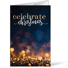 Glitter Sparkle Christmas Bulletin