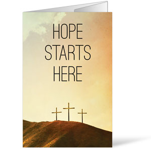 Hope Starts Here Calvary Bulletins