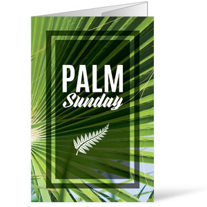 Green Palm Leaf Bulletins