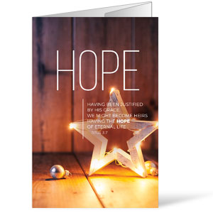 Lights of Advent Hope Bulletins