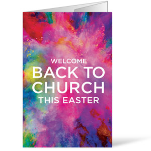 Back to Church Easter Bulletins