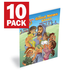 BTC DiscipleLand Good News Booklet Outreach Books