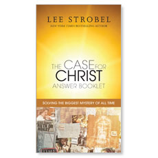 The Case for Christ Answer Booklet Book