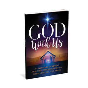 God With Us Advent Devotional gift book  Outreach Books