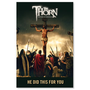 The Thorn Cross LightBox Graphic Insert