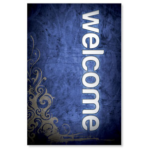 Adornment Welcome LightBox Graphic Insert