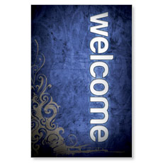 Adornment Welcome LED LightBox Graphic