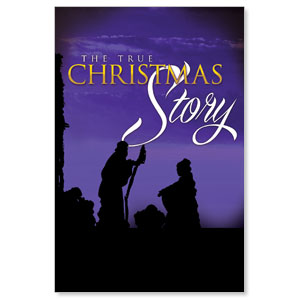 True Christmas Story LightBox Graphic Insert