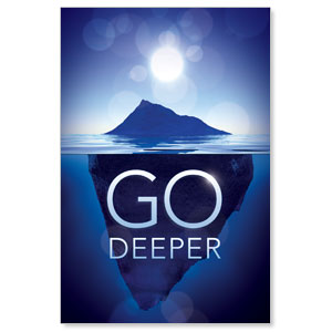 Deeper Iceberg LED LightBox Graphics