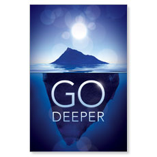 Deeper Iceberg LED LightBox Graphic