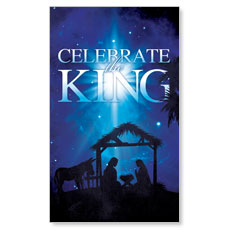 Celebrate the King M LED LightBox Graphic