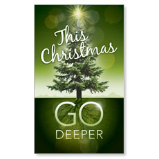 Go Deeper Christmas LED LightBox Graphic