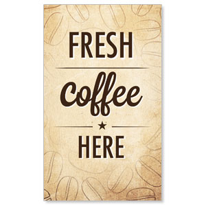 Coffee Retro LED LightBox Graphics
