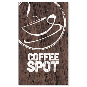 Coffee Spot LightBox Graphic Insert