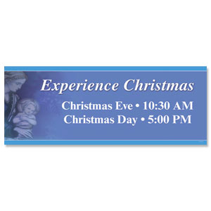 Experience Christmas Banners