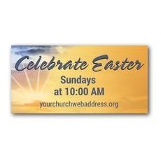 Easter Sunrise Banner