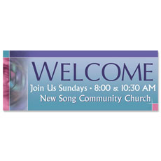 Mosaic Welcome Banner