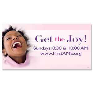 Get the Joy - 8 ImpactBanners