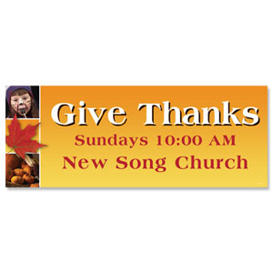 Give Thanks Banners