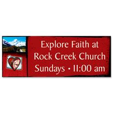 Explore Faith Banner