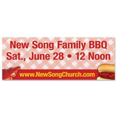 Ketchup & Mustard Banner