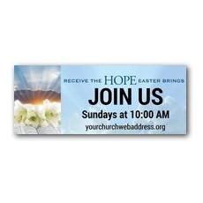 Easter Brings Hope Banner