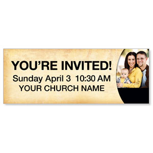 Pastor Invitation Banners
