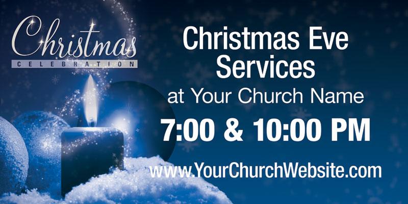 christmas celebration banner church banners outreach marketing