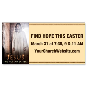 Jesus Hope of Easter - 8 ImpactBanners