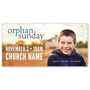 Orphan Sunday Banners