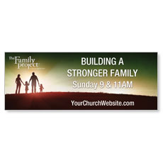 Family Project Outdoor Banner