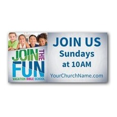 VBS Green Blue Red Banner