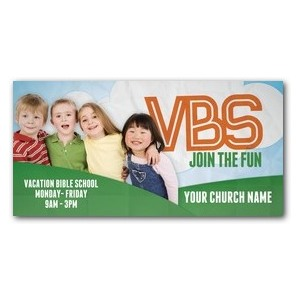Fun Invitation VBS 4 x 8 ImpactBanners
