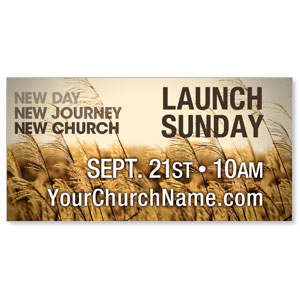 New Day New Church Banners