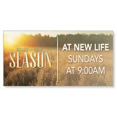 New Season Fall Banner