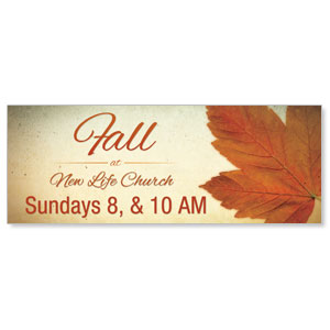Fall Logo Card Banners