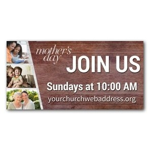 Mothers Day Invite 4 x 8 ImpactBanners