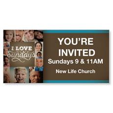 I Love Sundays Banner