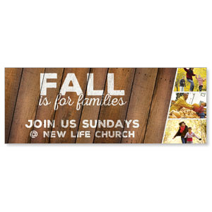 Fall Families Banners