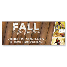 Fall Families Banner
