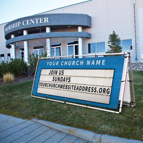 Church Marquee Banner Church Banners Outreach Marketing