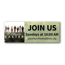 Easter Together People Banner