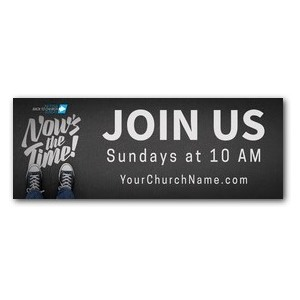 Back to Church Sunday: Nows the Time ImpactBanners