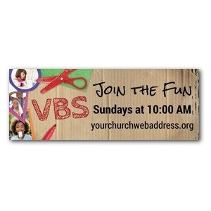 VBS Crafts 3 x 8 ImpactBanners