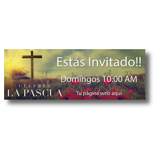 Celebrate Easter Cross Spanish
