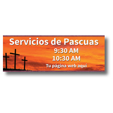 Crosses Spanish Banner