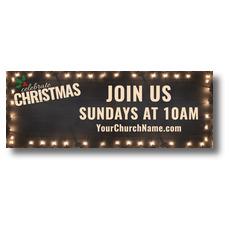 Christmas At Lights Banner