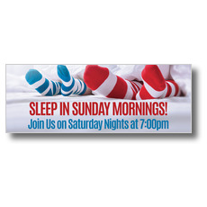 Sleep In Socks Banner