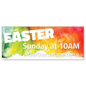 Celebrate Easter Events Banners