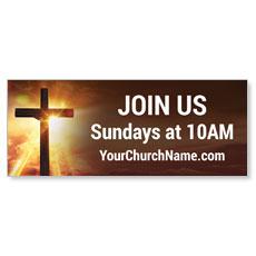 Cross Story Banner